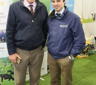Denis Fitzgerald William O'Flynn Souther Milling at the National Dairy Show